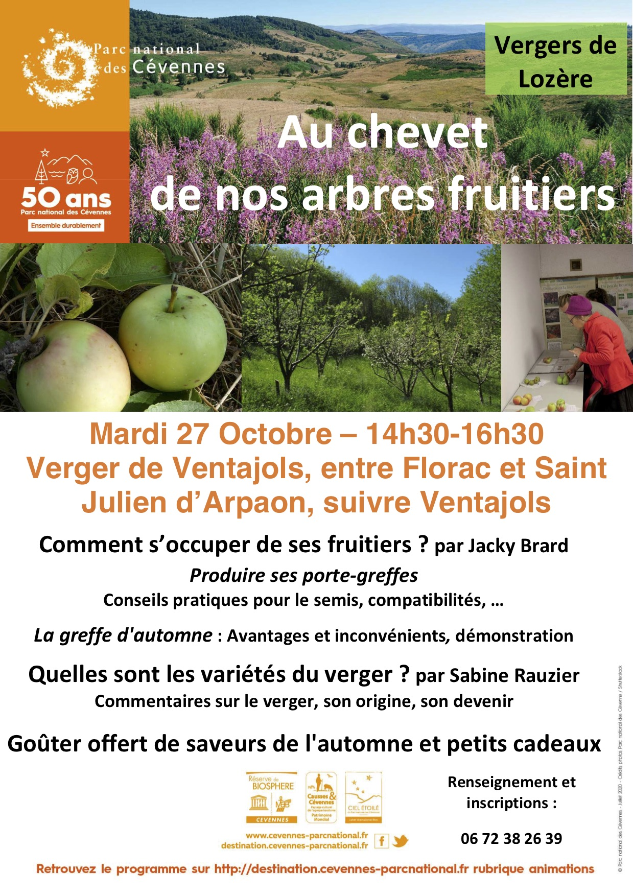 Annulation : Au chevet de nos arbres fruitiers